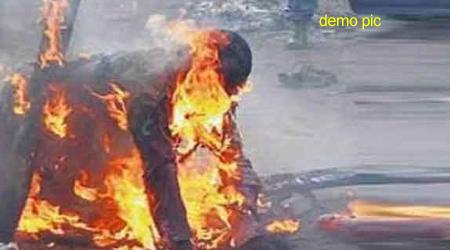 REWA में पत्नी ने पति को जिंदा जला डाला