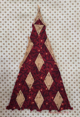 Dear Jane Quilt - Border Triangle Block RR2 Cherokee Lee