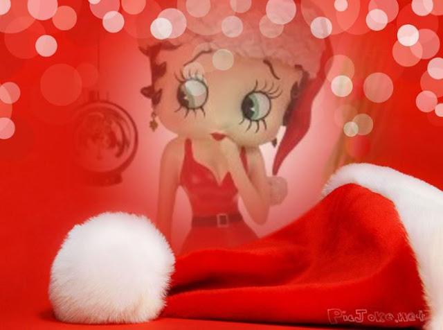 Betty Boop Navidad,GORRO