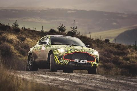 Aston Martin's First SUV
