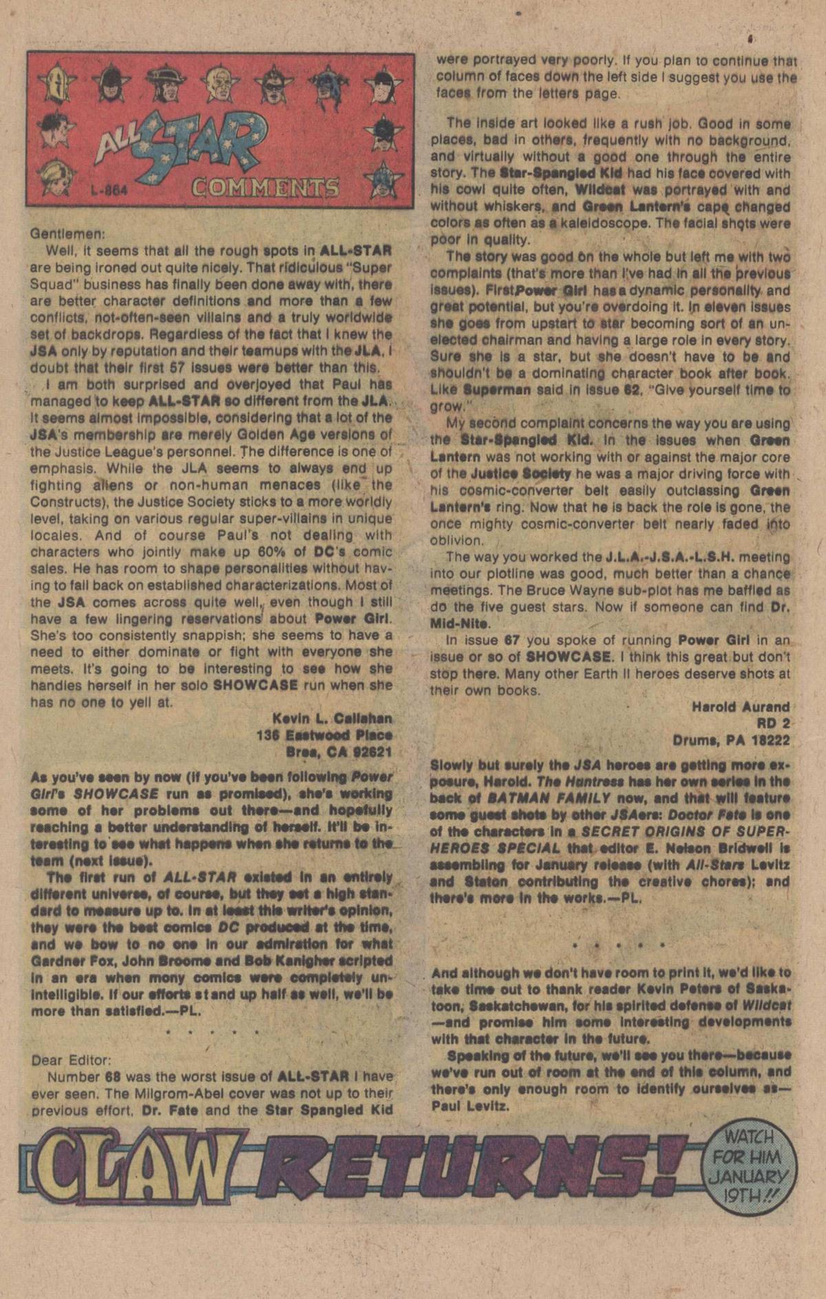 Read online All-Star Comics comic -  Issue #71 - 32