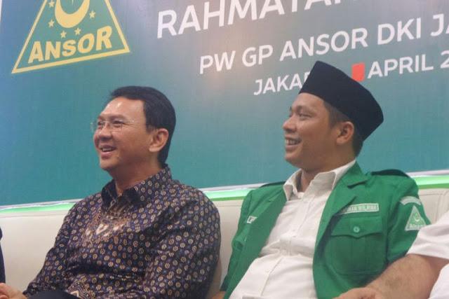 Menyedihkan, Ketua GP Anshor DKI Memelas Dana Hibah Dari Ahok