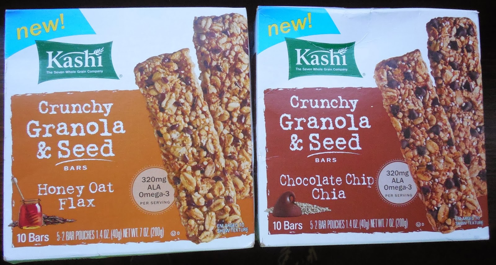 Kashi Crunchy Granola and Seed Bars