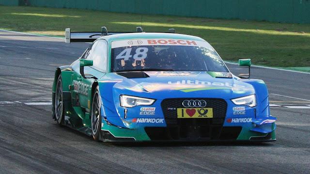 Audi RS 5 DTM #48 (Audi Sport Team Abt Sportsline), Edoardo Mortara