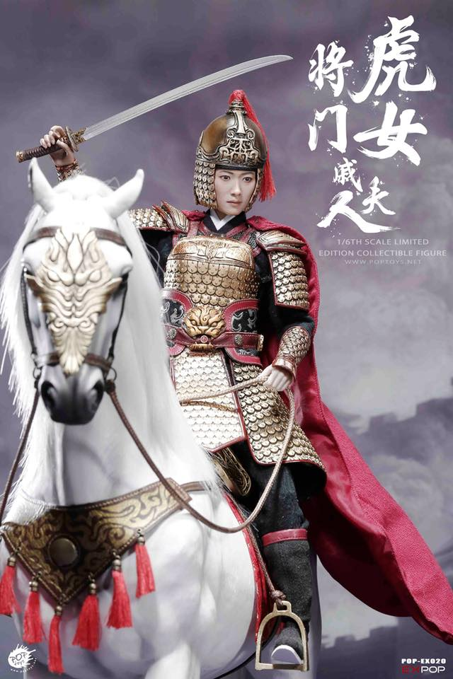 POPTOYS 1//6 EX020-B Heroine Mrs.Qi Battle Steed Collectibles Figure Horse New