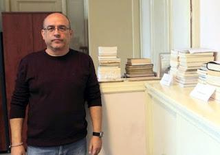 Ανδρέας Βαρελάς : Μικρός απολογισμός και κάλεσμα προσφοράς βιβλίων...