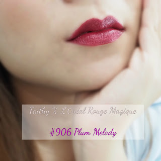 loreal Rouge Magique Review, Swatches