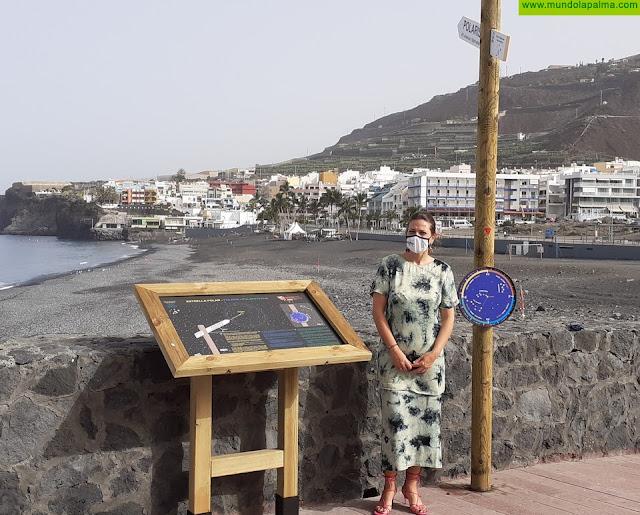 El Ayuntamiento de Los Llanos de Aridane renueva el mirador astronómico de Puerto Naos