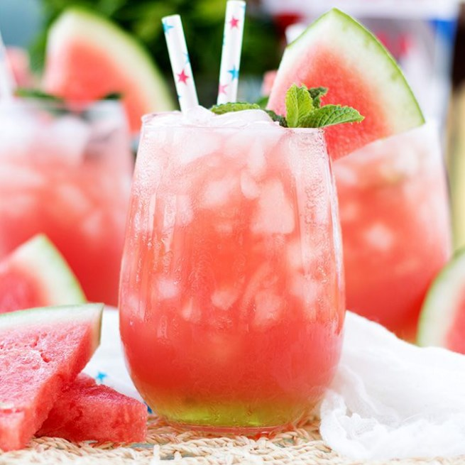 Vodka Watermelon Cooler #summer #drink