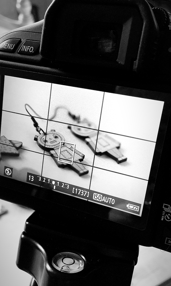 shooting boucles d'oreilles robot