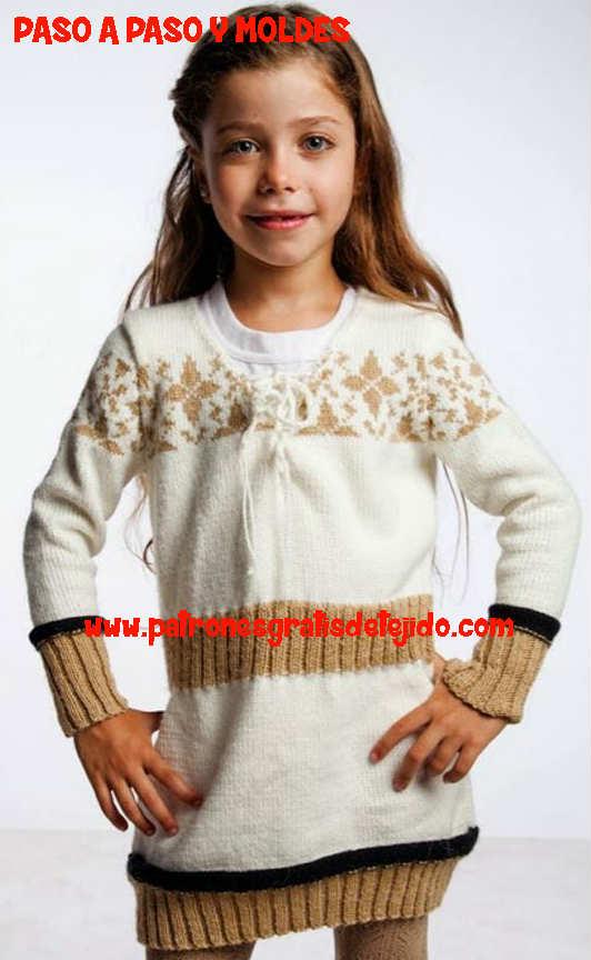 tejido de niña tricot
