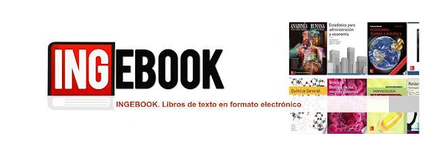 INGEBOOK, Libros de texto en formato electrónico.