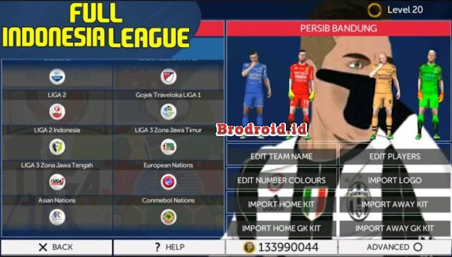 Download FTS 18 Full Transfer All Club 2018 Mod Apk SYHPatch Terbaru