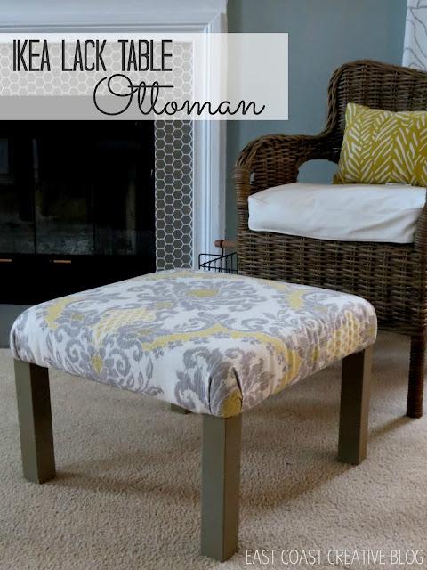 ikea lack ottoman ikea hack. Black Bedroom Furniture Sets. Home Design Ideas