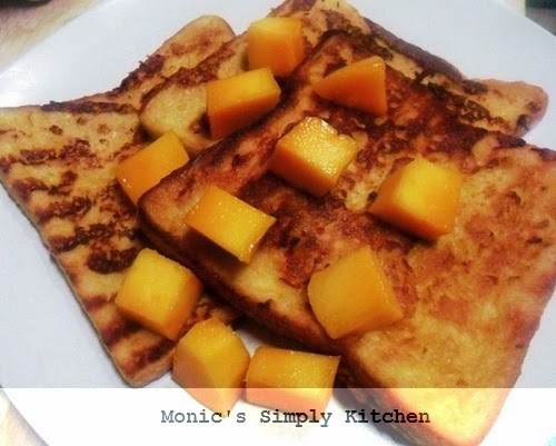 resep french toast mangga