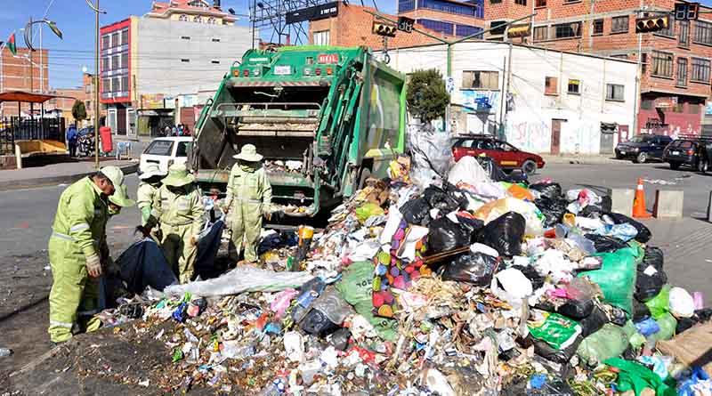 El Alto vive una crisis de sanidad por el bloqueo de algunos dirigentes al relleno sanitario