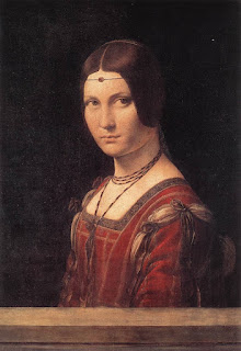 For many years, it was assumed the woman in Da Vinci's La belle Ferronnière was Sforza's mistress, Lucrezia Crivelli