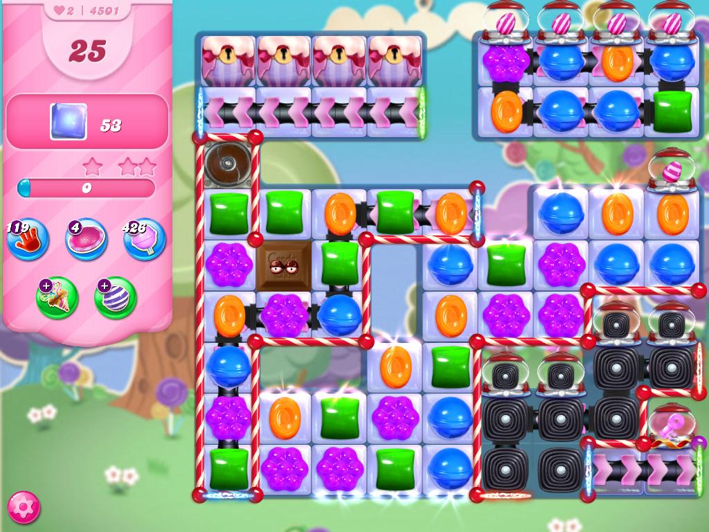 Candy Crush Saga level 4501