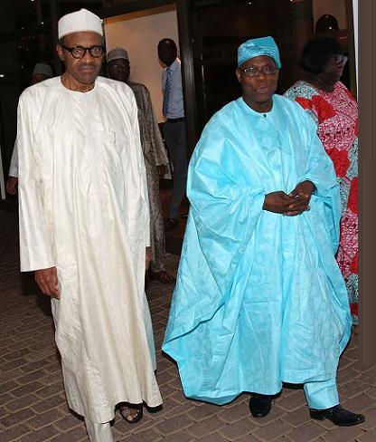 buhari visits obasanjo