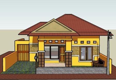 contoh model rumah simple minimalis tapi modern