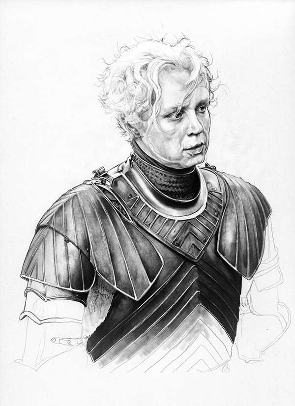 03-Gwendoline-Christie-Brienne-of-Tarth-Corbyn-S-Kern-Game-of-Thrones-Star-Trek-and-Star-Wars-Character-Drawings-www-designstack-co