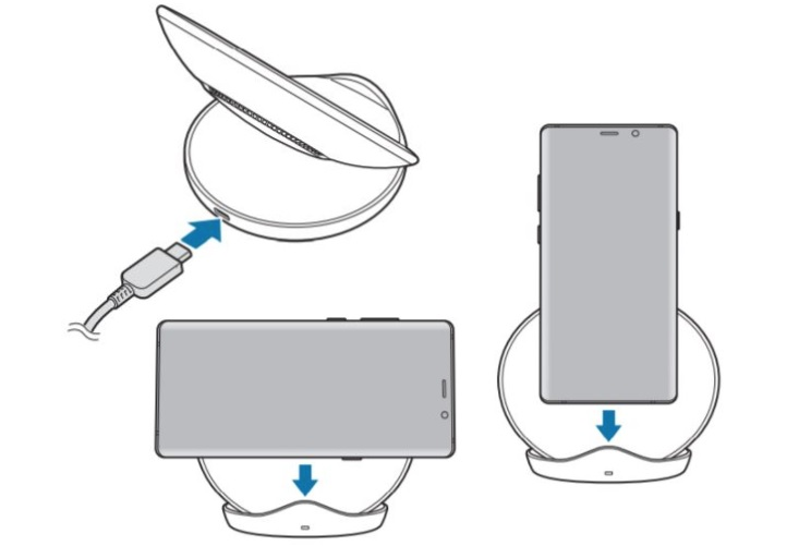 S9 wireless charger