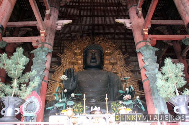 Buda Daibutsuden del templo Tōdai-ji