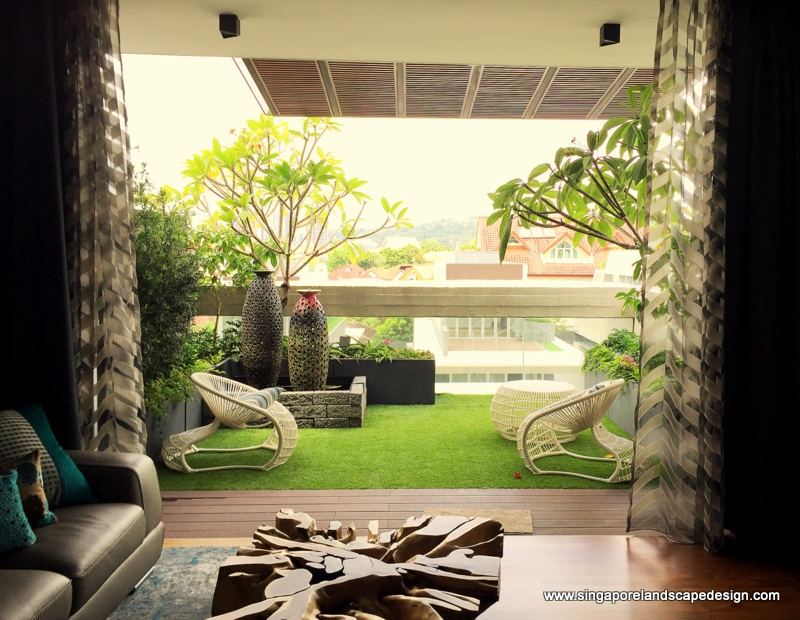 Singapore landscape design march 2016 for Balcony ideas singapore