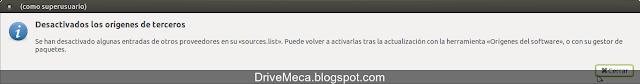 DriveMeca actualizando Linux Ubuntu MATE a Xenial Xerus 16.04 LTS paso a paso
