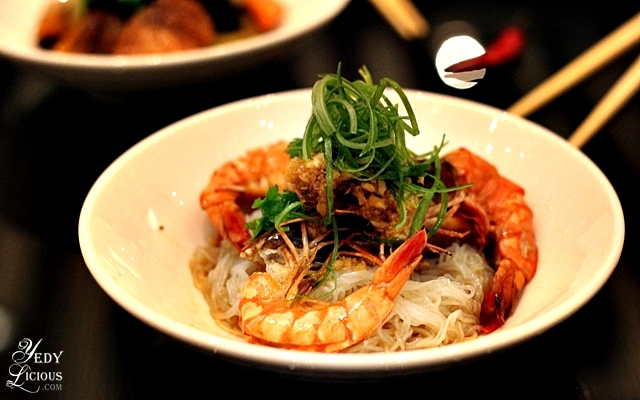 Shrimp with Vermicelli at Hyatt Buffet COD Manila