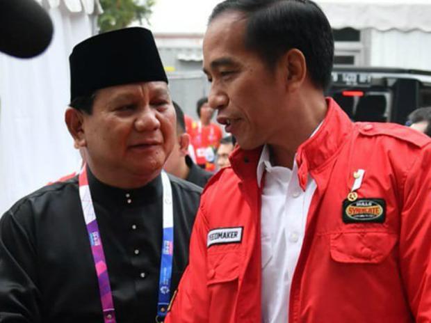Selamat Ulang Tahun Pak Prabowo, dari Pak Jokowi