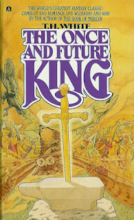 the cover for the Once and Future King by T.H. White