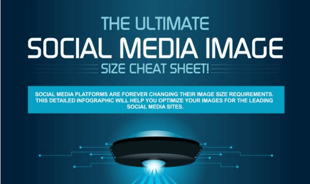 The Ultimate Social Media Image Cheatsheet