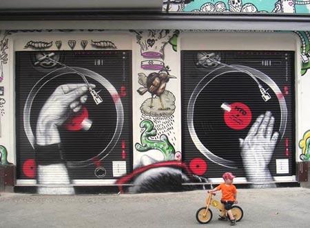 15 Gambar Graffity 3D Keren Ini Bisa Membuat Anda Kagum