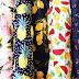 Xu hướng thời trang chất liệu thun cotton họa tiết hoa may mặc mùa hè 2017