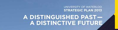University of Waterloo Strategic Plan Header