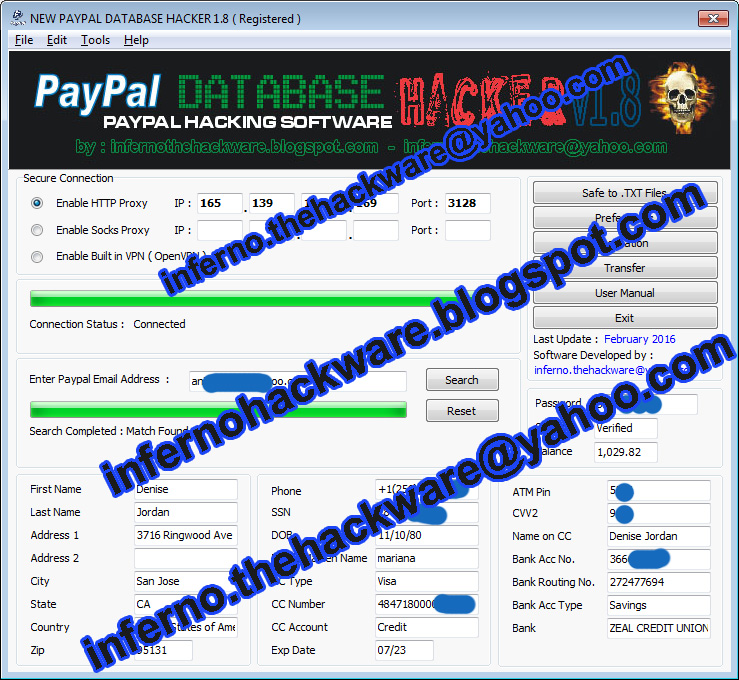 Paypal Hack Exe