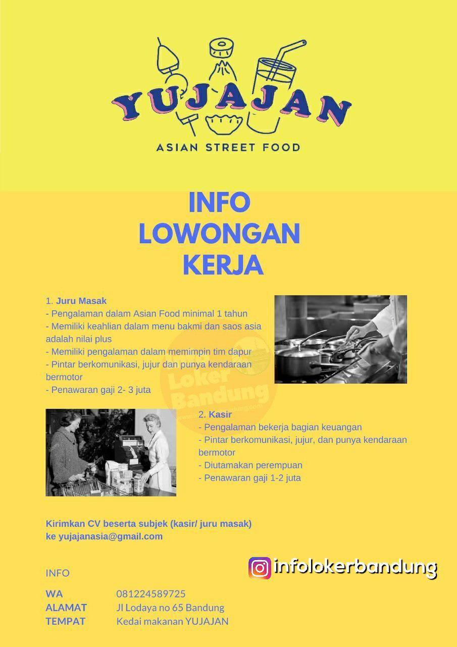 Lowongan Kerja Yu Jajan Asian Street Food Bandung Maret 2019