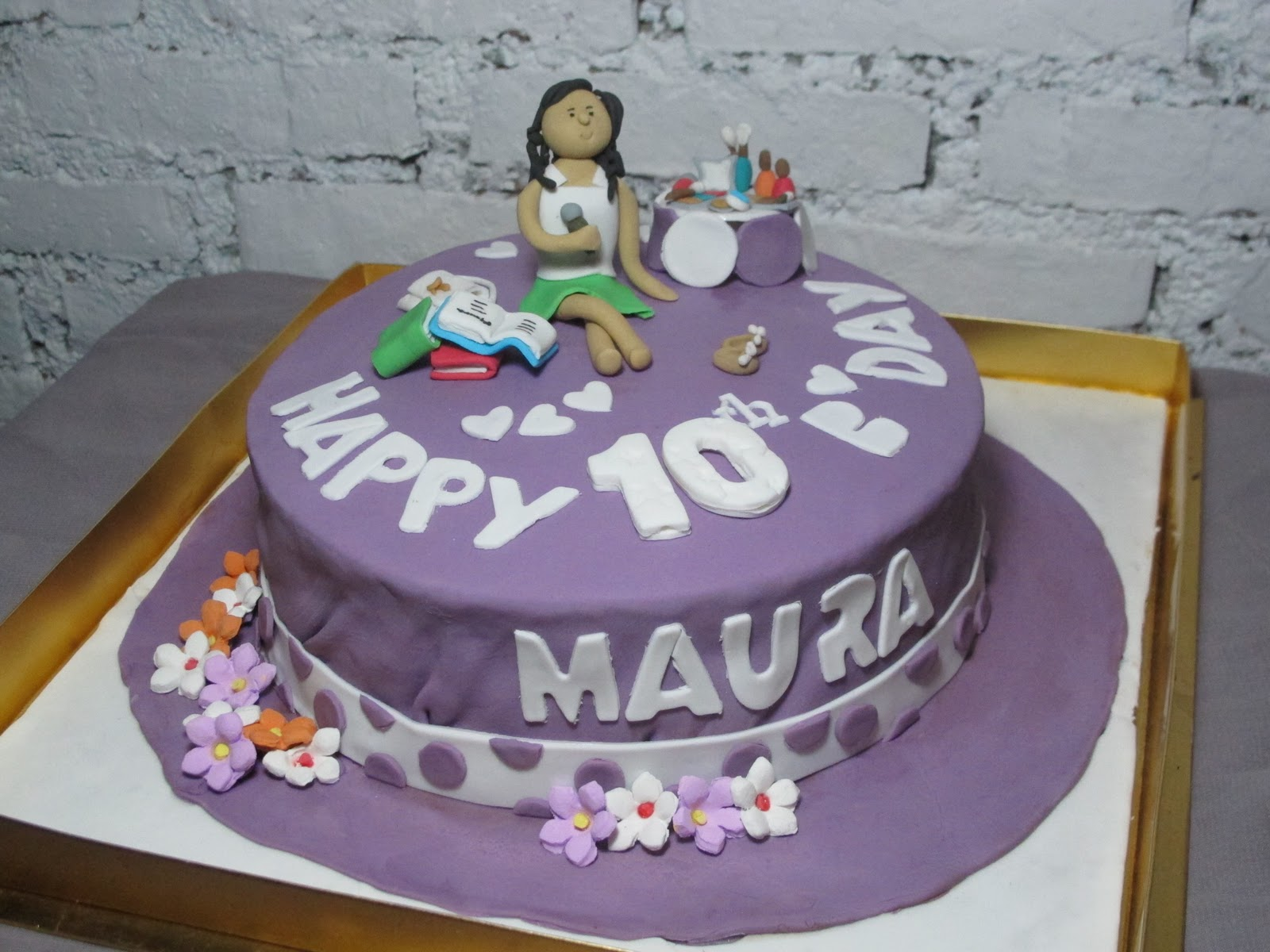 Spatula And Friends Birthday Cake 10 Yo Maura
