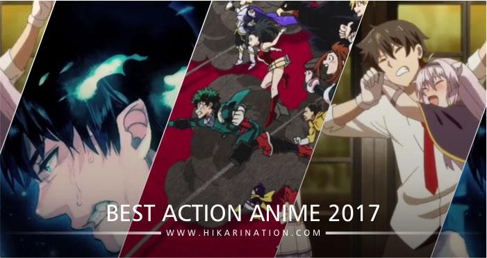 Daftar Anime Dengan Genre Action Terbaik Dan Terpopuler Di Tahun 2017