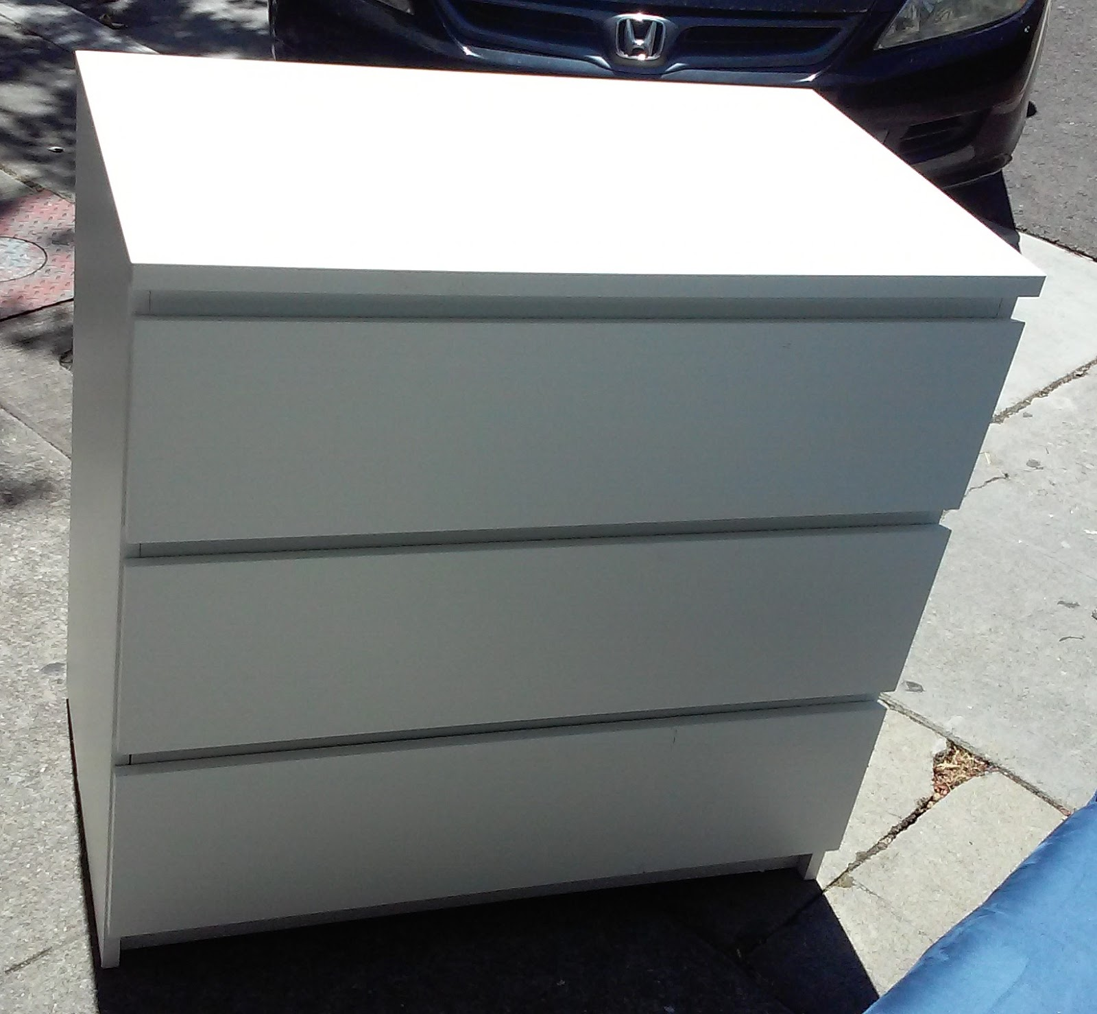 #2F6E9C UHURU FURNITURE & COLLECTIBLES: SOLD #1334 IKEA 3 Drawer  with 1600x1478 px of Brand New Ikea 3 Drawer Dresser White 14781600 pic @ avoidforclosure.info