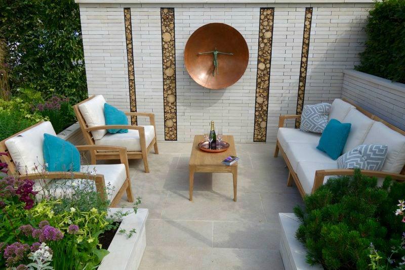 diseño de jardín confortable para las personas y atractivo para la fauna silvestre