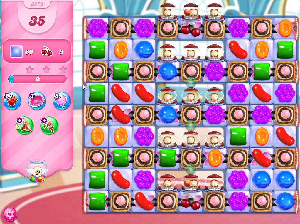 Candy Crush Saga level 3516
