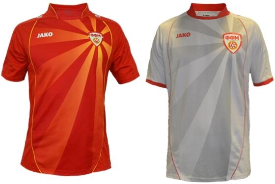 Jako apresenta as novas camisas da Macedônia - Show de Camisas 25c28826619a0