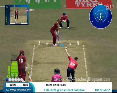 HD Studioz ICC World T20 2016 Patch For Cricket 07