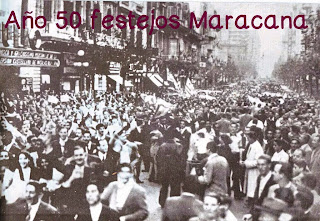 Festejos Mundial de Futbol 1950