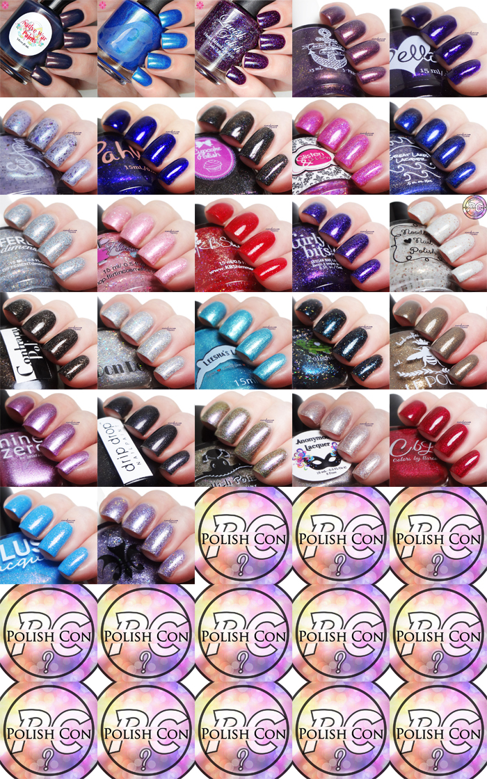xoxoJen's swatches of Road to Polish Con NYC