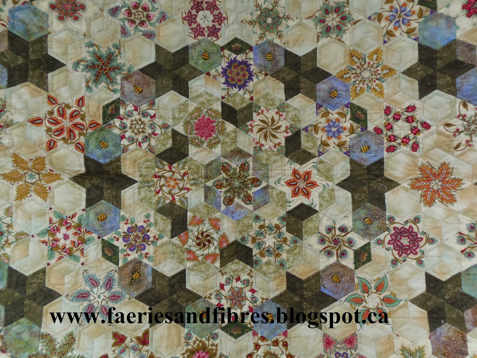 Faeries And Fibres English Paper Piecing Instructions