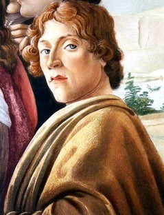 Imagen de Sandro Botticelli a color