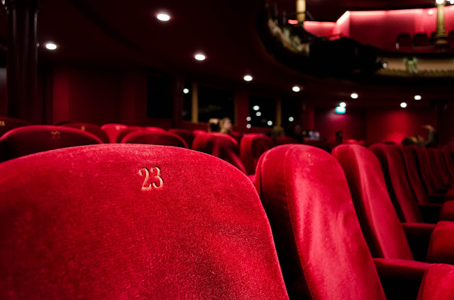 Seats in a cinema.